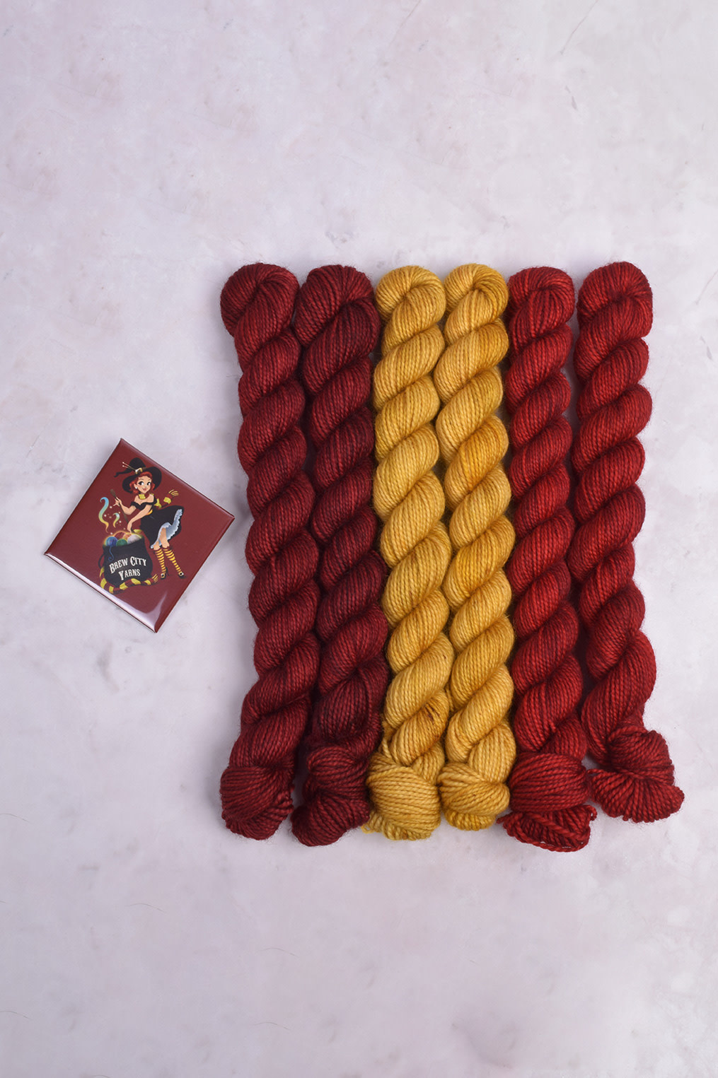 Image of Brew City House Sorting Mitts- Gryffindore
