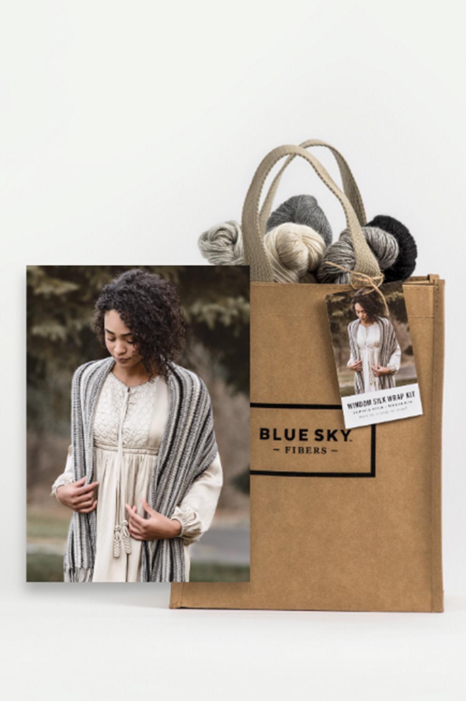 Image of Blue Sky Fibers Windom Silk Wrap Kit