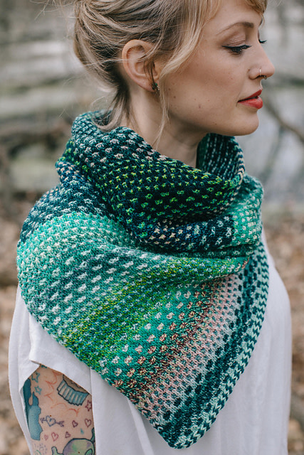 Image of The Shift Cowl; Friday, May 10, 17, 24;  12:00-2:00PM