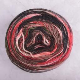 Image of Lang Mille Colori 200g 65 Pink Red Black