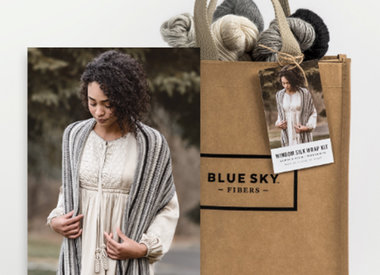 New Blue Sky Fibers Kits!