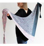Image of Right Around the Corner Shawl; Friday, June 21, July 12, August 9 12:00-2:00PM