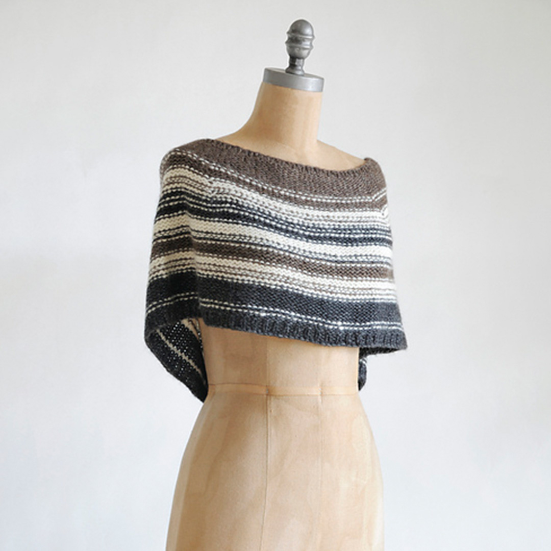 Feature Pattern of the Week - Shadow Capelet