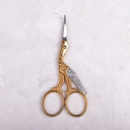 "Image of Mundial Stork Embroidery Scissors, 3 1/2"" length"