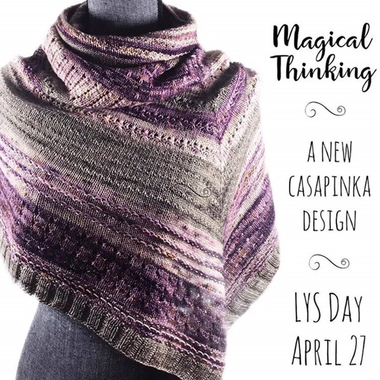 Celebrate LYS Day with a Complimentary Pattern from Casapinka