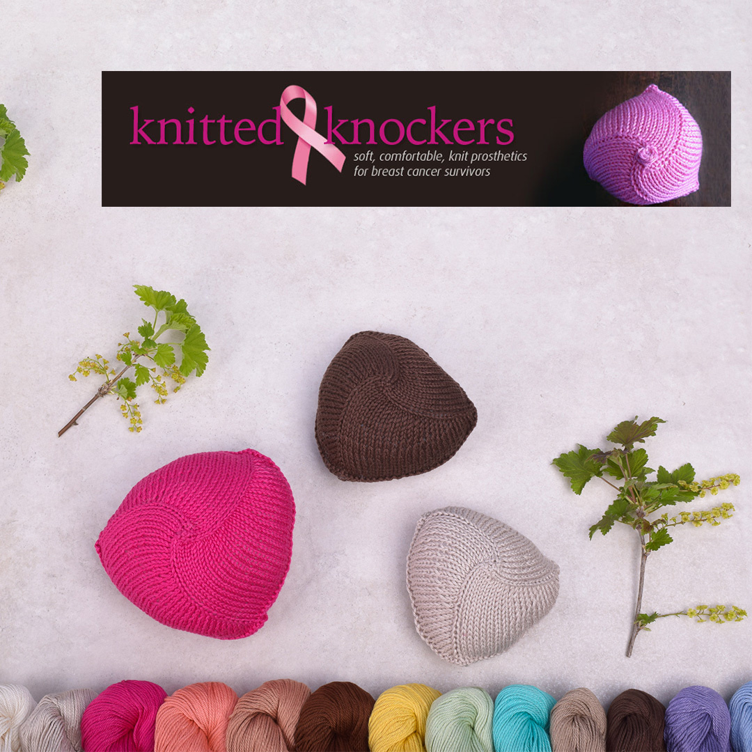 Feature Pattern of the Week - Knitted Knockers