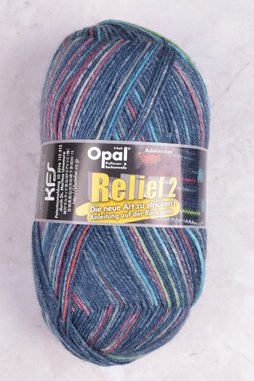 Image of Opal 4-Ply Relief 2 Collection 9663 Marine