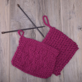 Image of Knitting 101: Learn to Knit; Tuesday, July 2, 9, 16, 23;  1:00-3:00PM