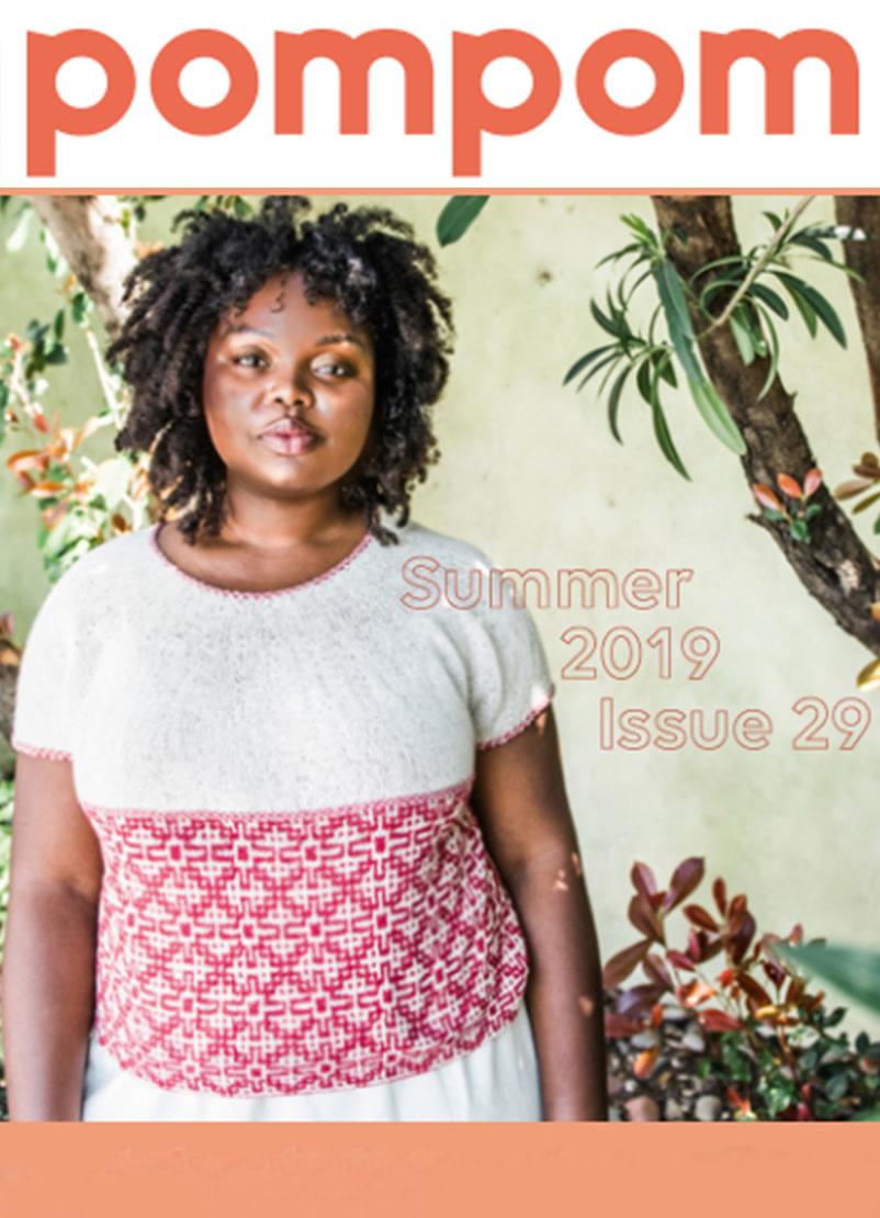 Image of Pompom Quarterly, Issue 29; Summer 2019