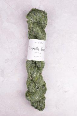 Image of BC Garn Tussah Tweed 16 Green Garden