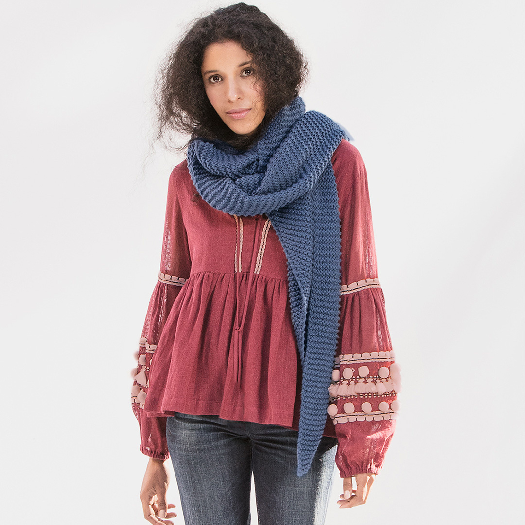 Feature Pattern of the Week - Waverly Wrap