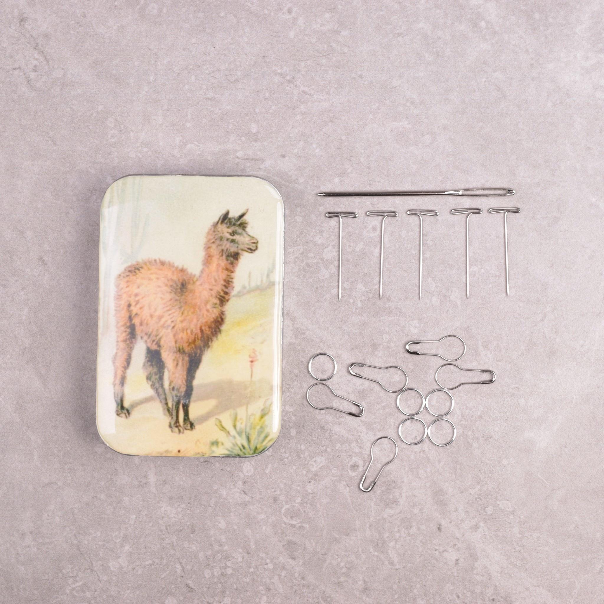 Image of Firefly Notes Notion Tin Set, Llama
