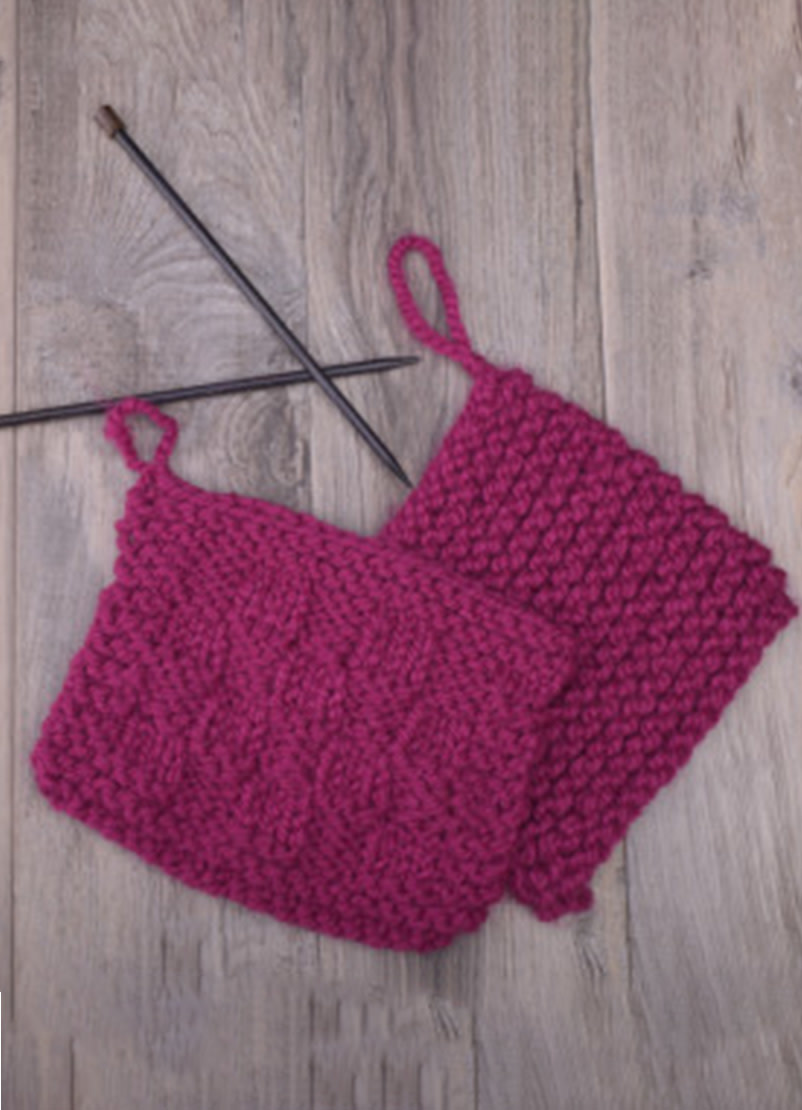 Knitting 101: Learn to Knit, Wednesday, October 9, 16, 23, 30;  6:00-8:00PM