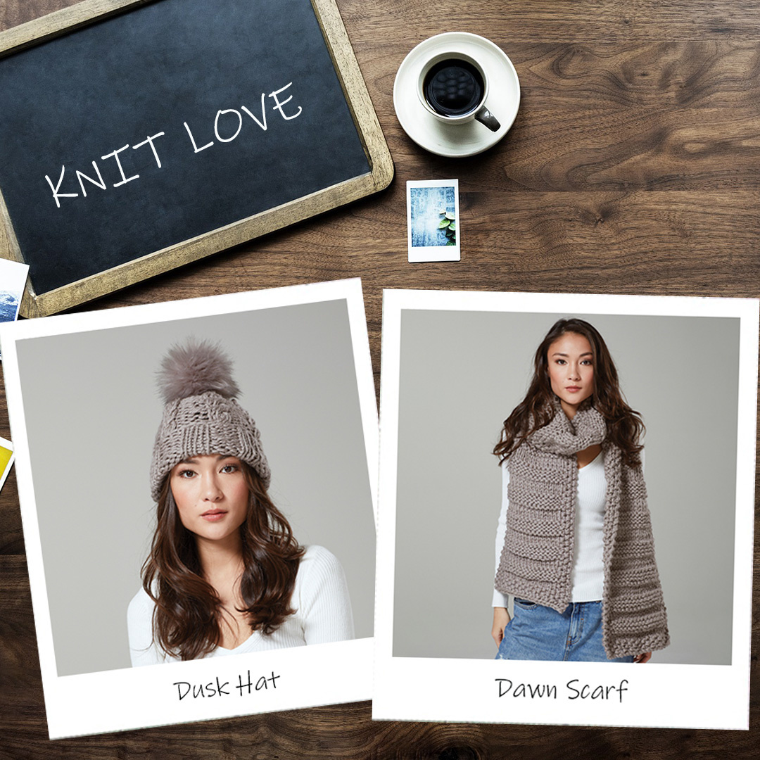 Feature Pattern of the Week - Dusk Hat & Dawn Scarf