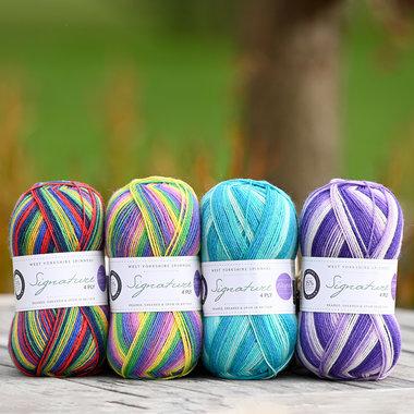Winwick Mum Sock Yarn Collection