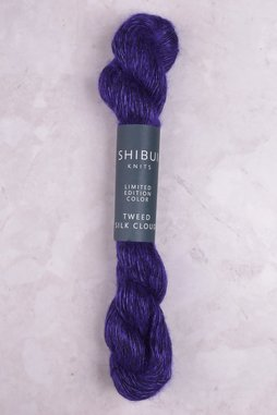 Image of Shibui Tweed Silk Cloud 2197 Tyrian
