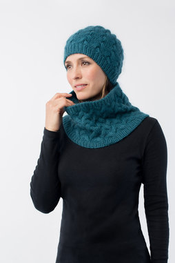 Image of Shibui Rise Hat & Cowl Kit, Cove