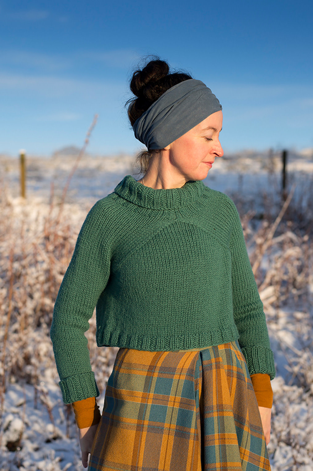 Carbeth Sweater/Cardigan Class, Wednesday, January 15, 29, February 5, 19;  6:00-8:00PM