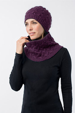 Image of Shibui Rise Hat & Cowl Kit, Velvet