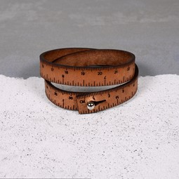Image of Wrist Ruler Medium Brown