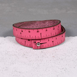 Image of Wrist Ruler Hot Pink