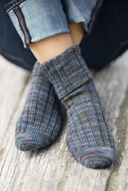 Image of Basic Cuff Down Sock, Monday, March 9, 23, 30, April 13; 6:00-8:00PM
