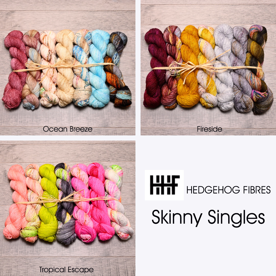 Hedgehog Skinny Singles have just arrived!