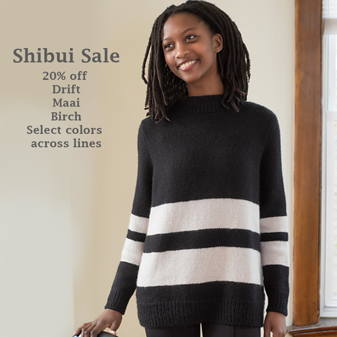 Shibui Yarns On Sale!