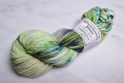 Image of Wonderland Yarns TweedleDeeDum Mad Tea Party 153 Only Lime Will Tell