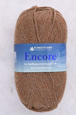 Image of Plymouth Encore Worsted 6006 Latte Heather (Discontinued)