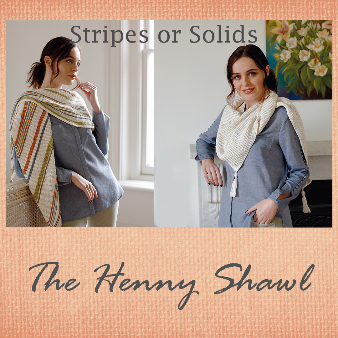 Feature Pattern of the Week - Henny Shawl