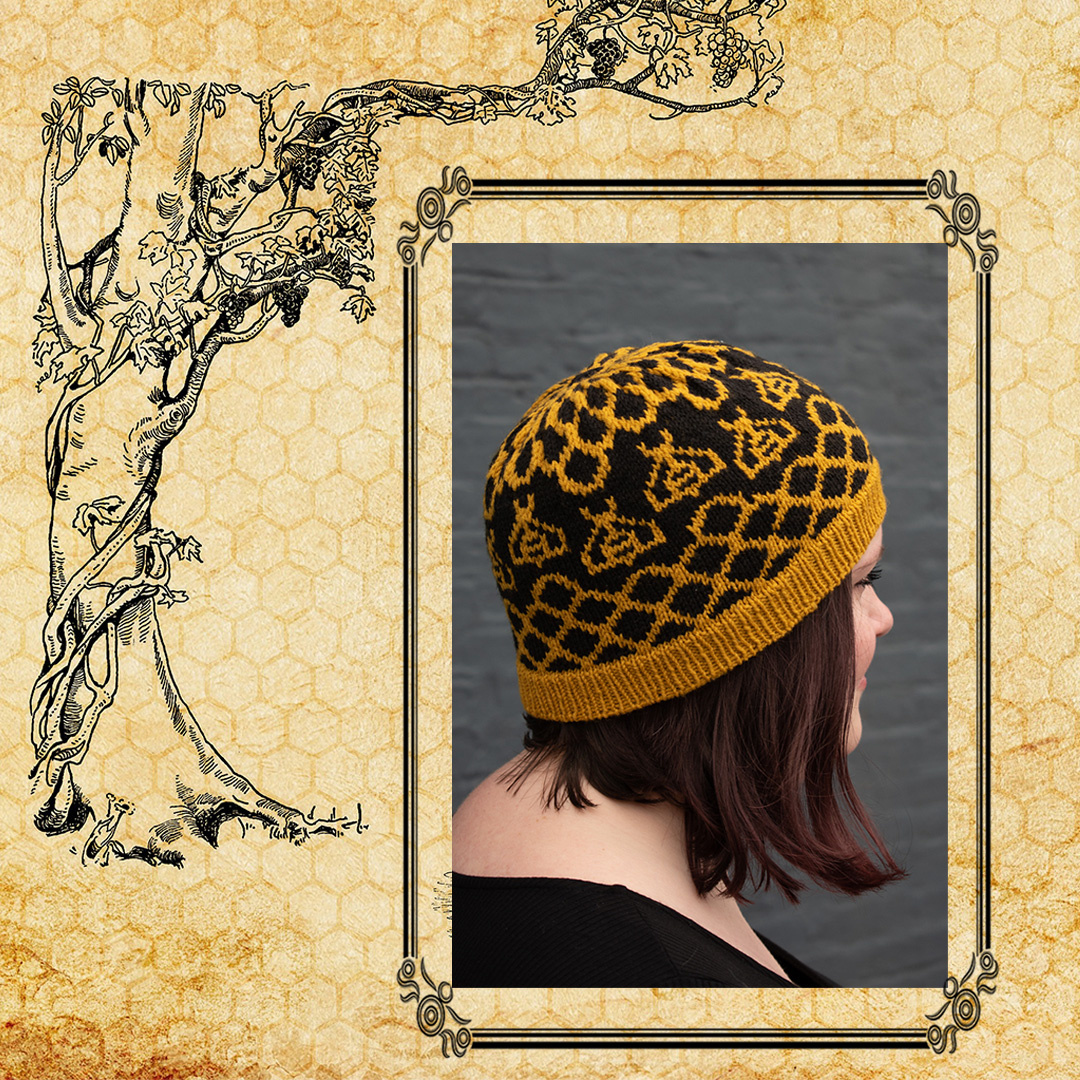 Feature Pattern of the Week - Apiculture Hat