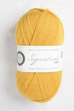 Image of WYS Signature 4 Ply 240 Butterscotch