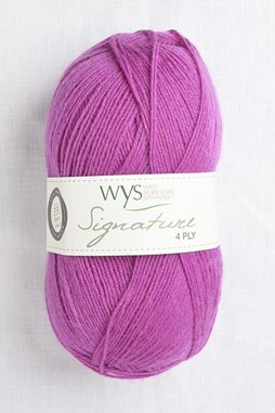Image of WYS Signature 4 Ply 735 Blackcurrant Bomb