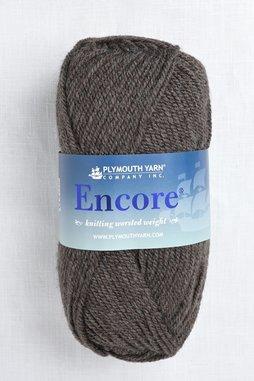 Image of Plymouth Encore Worsted 6001 Raccoon
