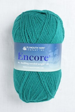 Image of Plymouth Encore Worsted 9852 Teal Adelphia