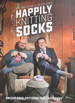 Image of Happily Knitting Socks