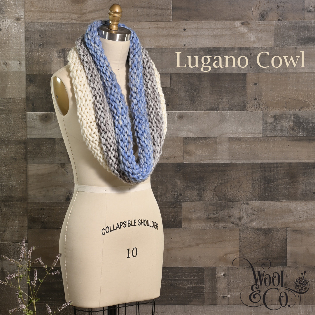 Feature Pattern of the Week - Lugano Cowl