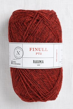 Image of Rauma Finullgarn 4120 Dark Red Heather
