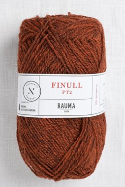 Image of Rauma Finullgarn 4132 Dark Rust Red Heather