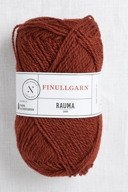 Image of Rauma Finullgarn 425 Medium Red Brown
