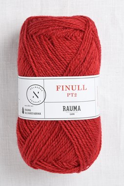 Image of Rauma Finullgarn 0435 Strawberry Red