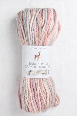 Image of Plymouth Baby Alpaca Grande Hand Dye 12 Dusty Sunrise