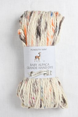 Image of Plymouth Baby Alpaca Grande Hand Dye 144 Autumn Cream