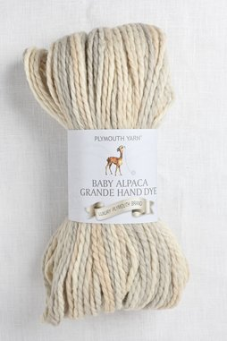 Image of Plymouth Baby Alpaca Grande Hand Dye 34 Cream Mix
