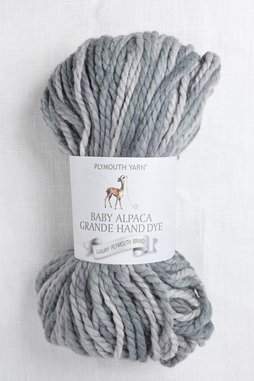 Image of Plymouth Baby Alpaca Grande Hand Dye 37 Grey Mix