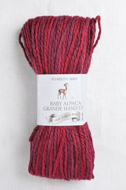 Image of Plymouth Baby Alpaca Grande Hand Dye 38 Deep Red Mix