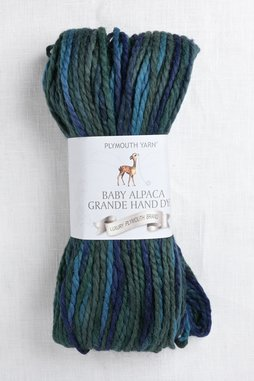 Image of Plymouth Baby Alpaca Grande Hand Dye 5 Deep Sea Mix