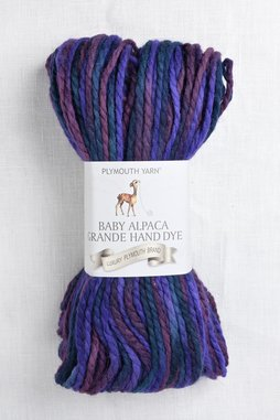 Image of Plymouth Baby Alpaca Grande Hand Dye 9 Wine Mix