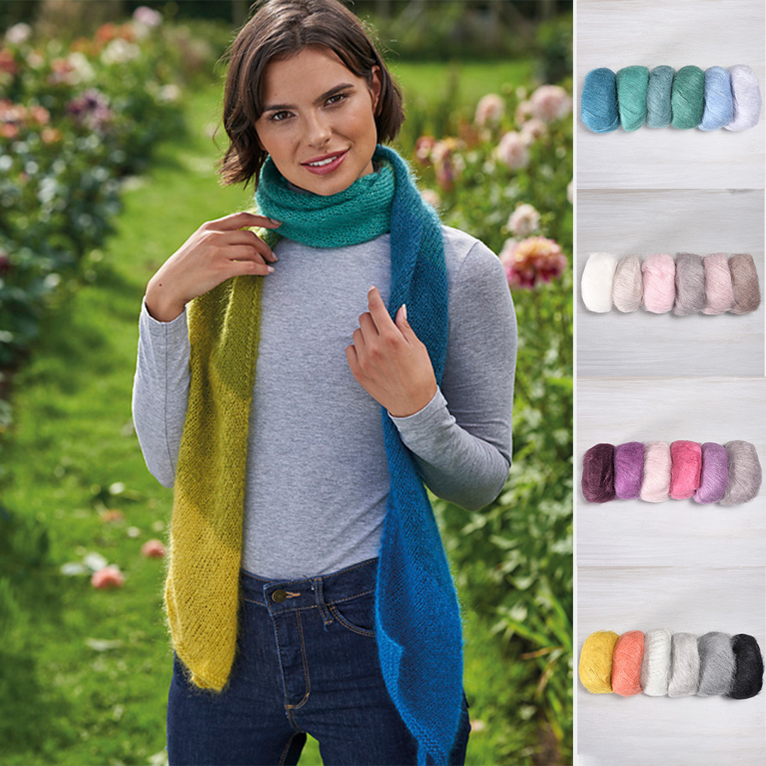 Feature Pattern of the Week - Fade Scarf